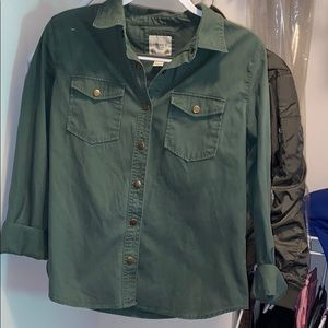 Army Green Lightweight Jacket